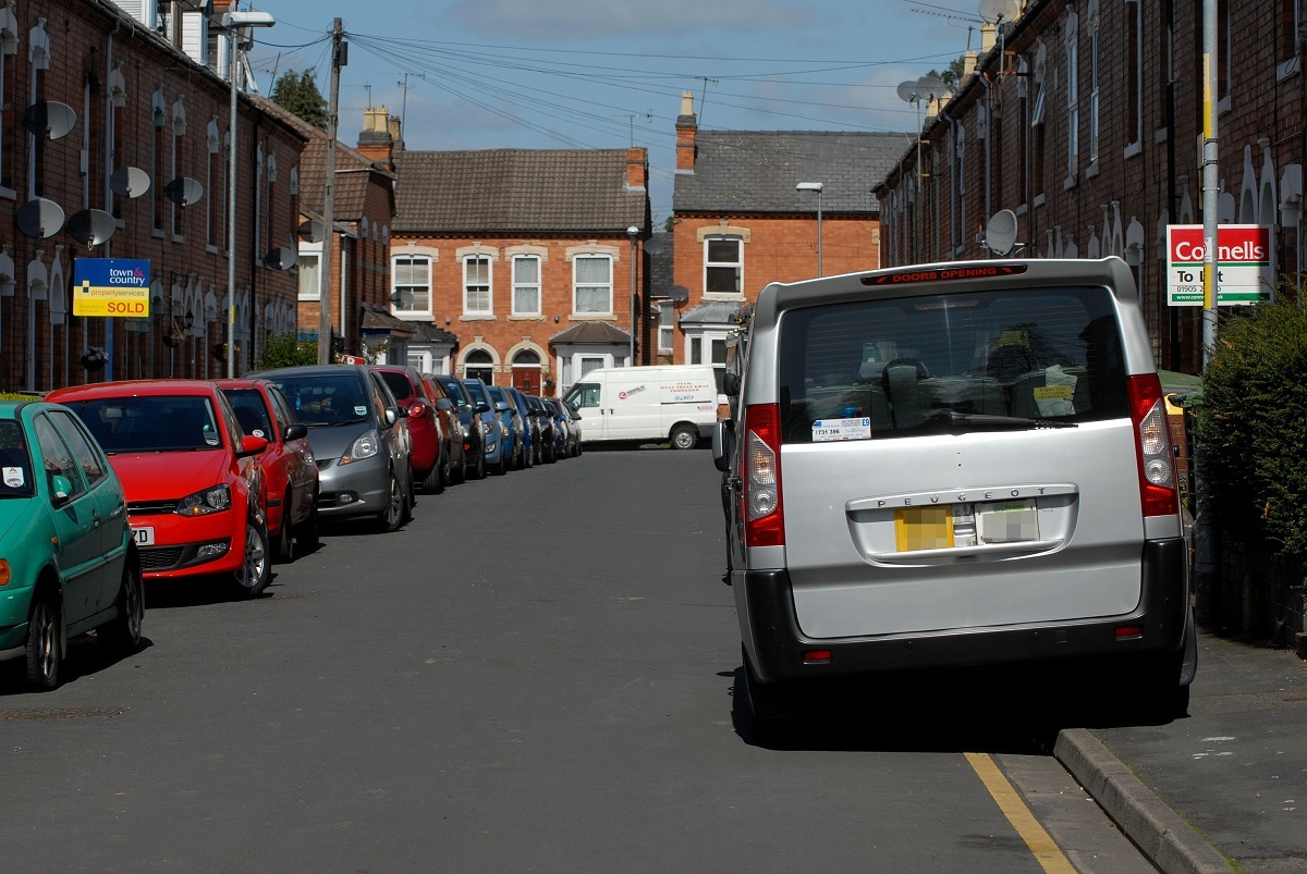 CHANGES: File image of cars parked on pavements. PIC: Paul Jackson