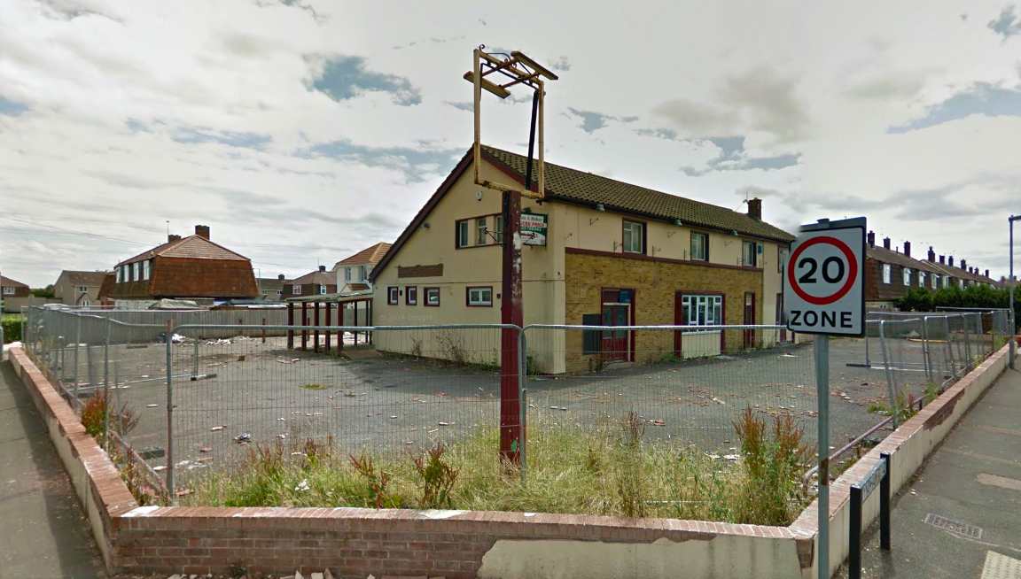 DERELICT: The former Withy Cutter pub in Bridgwater. PICTURE: Google Street View