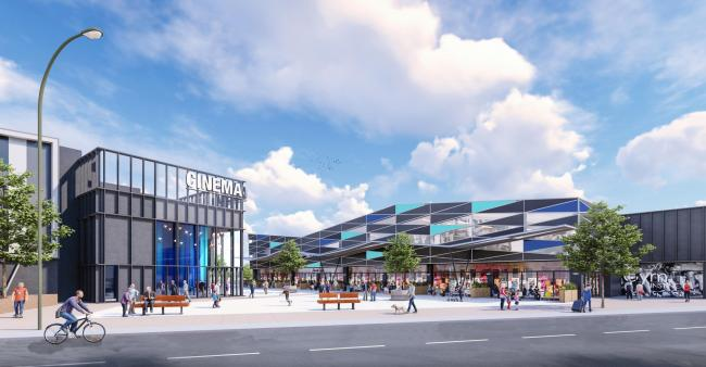 VISION: An artist's impression of the new Northgate cinema and leisure scheme