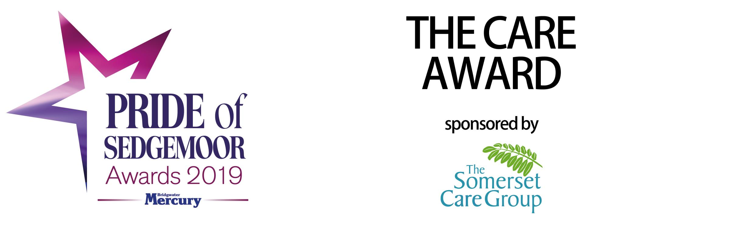 Bridgwater Mercury: Pride of Sedgemoor Awards 2019: Care Award