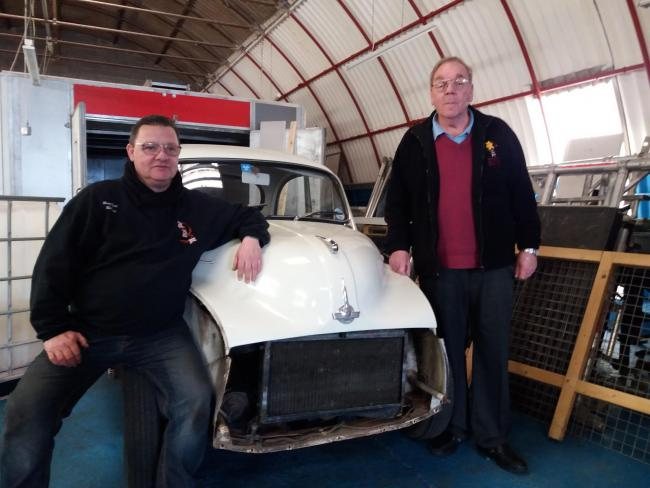 WORKSHOP: Vince Davis of Rusty Road 2 Recovery with Cllr Dave Loveridge