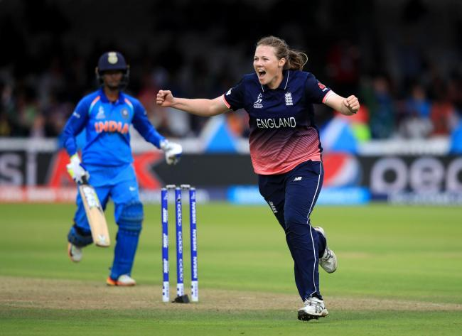 ON THE MOVE: Anya Shrubsole