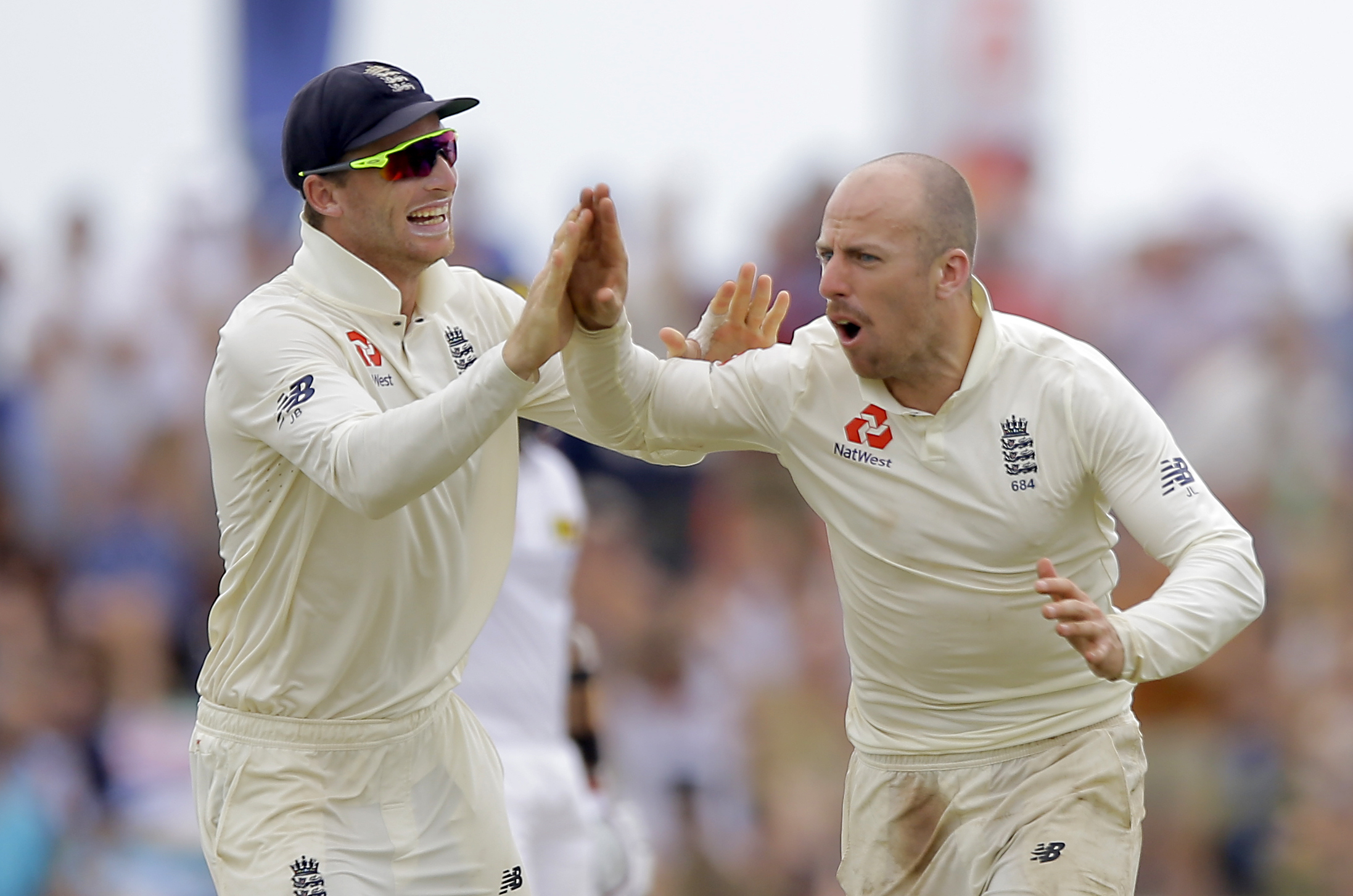 HOMECOMING: Could Jos Buttler (left) link up with Jack Leach at Somerset next year? Pic: PA Wire
