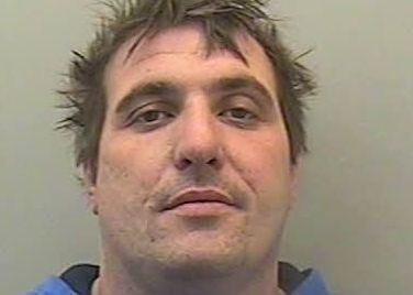 JAILED: Samuel Harris, formerly of Fairfax Road, Bridgwater was sentenced at Exeter Crown Court