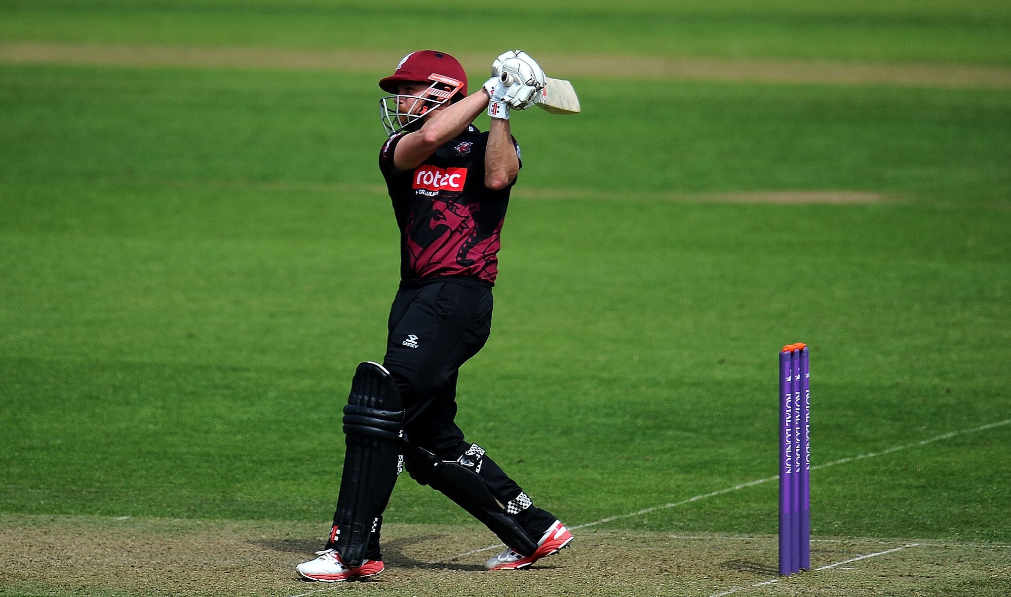 RECORD-BREAKER: James Hildreth has now played more times for Somerset than anybody else. Pic: Alex Davidson/SCCC