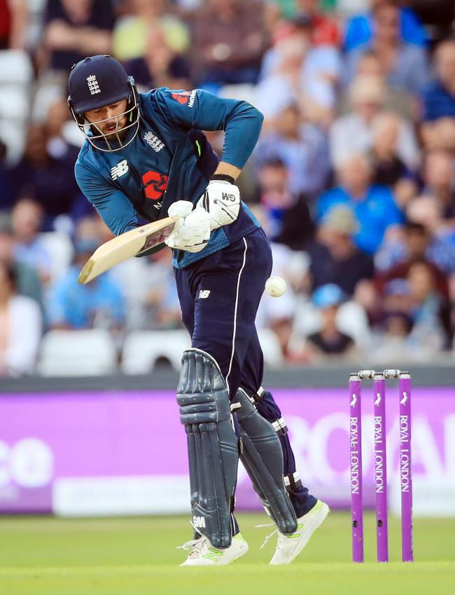 England's James Vince during the third Royal London One Day international at Emerald Headingley, Leeds..