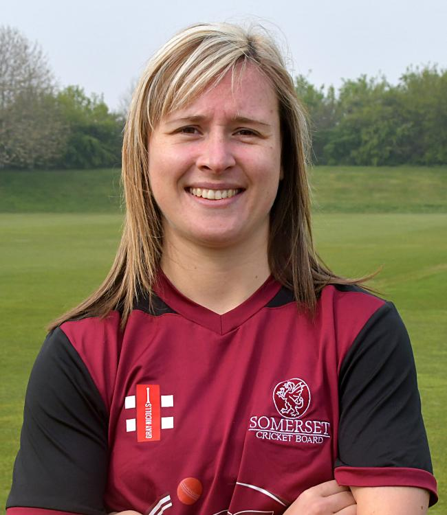 SKIPPER: Somerset captain Sophie Luff