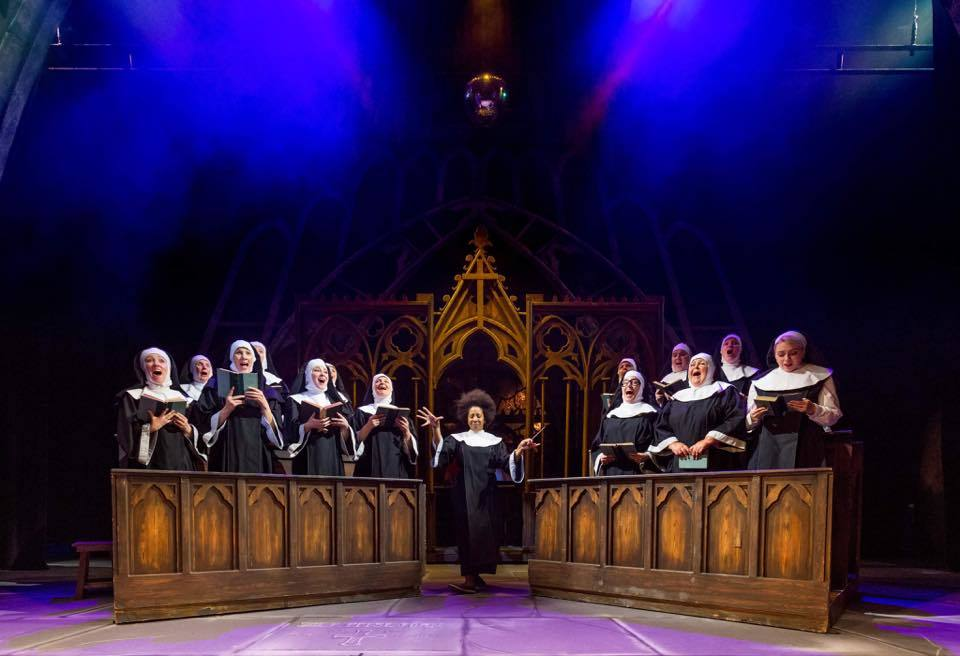 SECOND TO NUN: Bridgwater Operatic Society's Sister Act (Picture: Bridgwater Operatic Society)