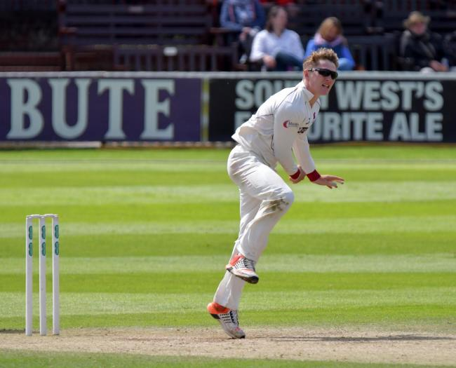 BESSED TO IMPRESS: Could Dom Bess be given an opportunity against Hampshire? Pic: SCCC
