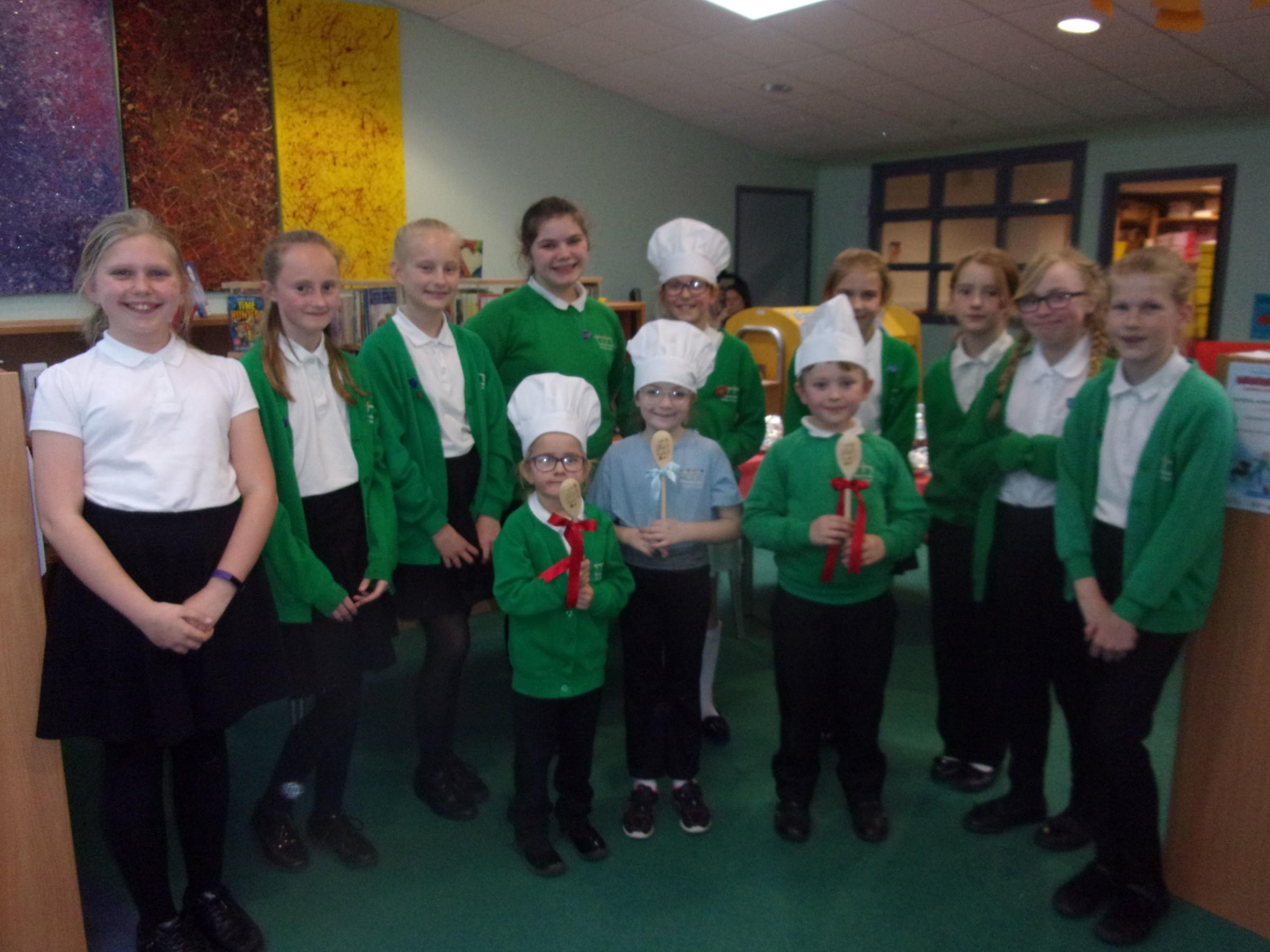 COOKING UP A STORM: The talented young bakers at Somerset Bridge Primary School
