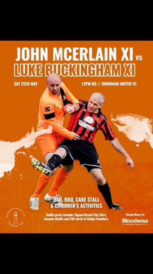 CHARITY MATCH: A John McErlain XI and a Luke Buckingham XI are going head-to-head for charity