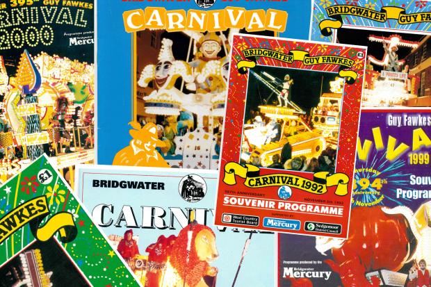 COLLECTION: Bridgwater Carnival Programmes