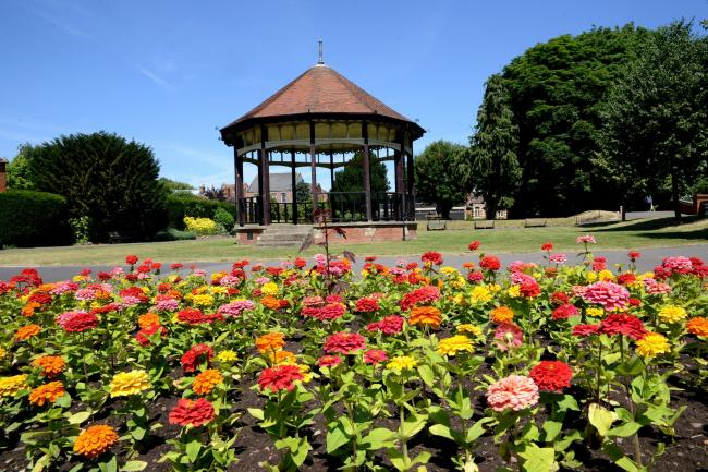 VENUE: Blake Gardens, Bridgwater, is host to the shows. PICTURE: Aisling Magill